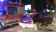 Среднощно меле в Бургас! Бакшиш помля опел и избяга, има ранени (СНИМКИ/ВИДЕО)