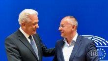Еврокомисар Аврамопулос с категорична подкрепа за доклада на Станишев за България в Шенген с всички граници