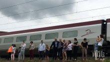Евродепутати и чиновници от ЕС бяха блокирани с часове във влака за Страсбург