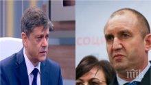 ЕКСКЛУЗИВНО! Генерал Попов с остра критика към Румен Радев: Като има данни за лобизъм да се обади на главния прокурор!
