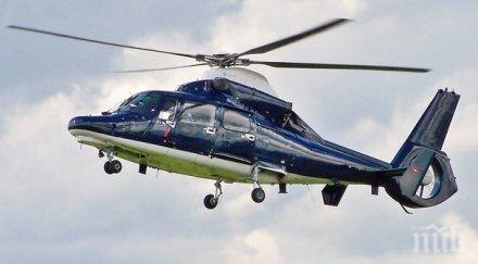 ИЗВЪНРЕДНО! Военен хеликоптер се разби край Пловдив