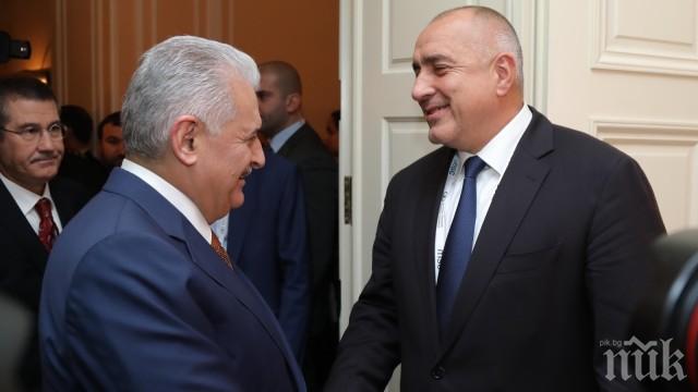 ИЗВЪНРЕДНО В ПИК! Борисов с първи думи след срещата с Йълдъръм: Можем да открием разширяването на газопровода за Турция (ОБНОВЕНА)