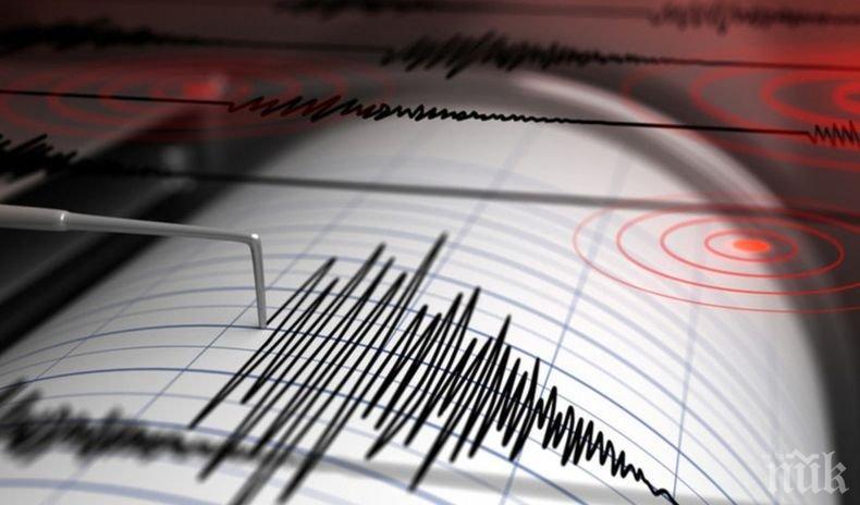 Земетресение с магнитуд 5.0 по Рихтер бе регистрирано в района на Командорските острови