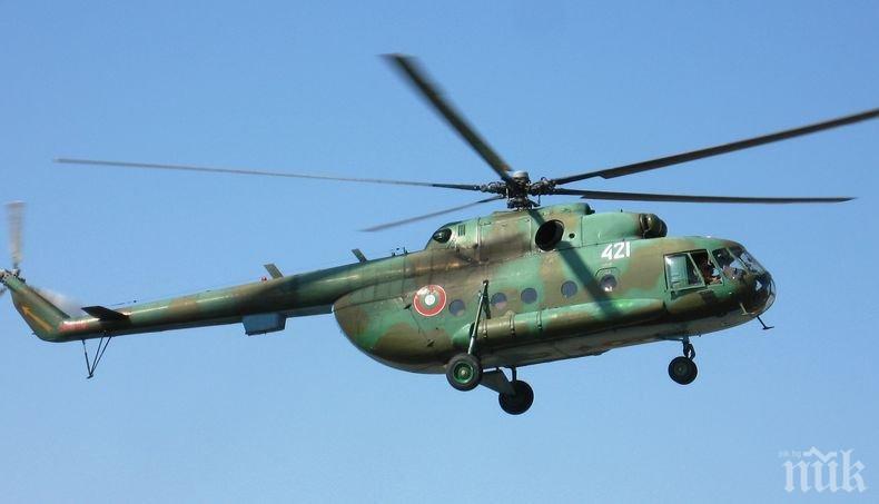 От последните минути! Състоянието на бордния техник на катастрофиралия хеликоптер Ми-17 е стабилно. Ето кои са загиналите при трагедията