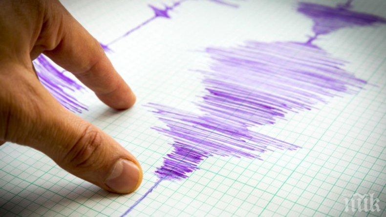 Земетресение  с магнитуд 3.2 по Рихтер е било регистрирано на територията на Хърватска