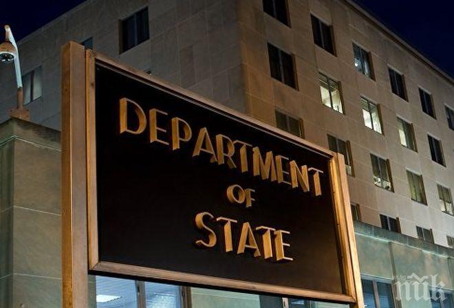 Държавният департамент на САЩ опровергава обвиненията, че се подготвя инсцениране на химическа атака в Сирия