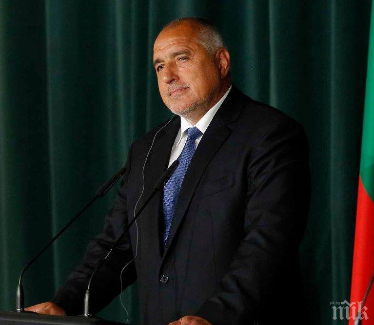 Премиерът Бойко Борисов изрази съболезнования на семействата и близките на загиналите двама военни