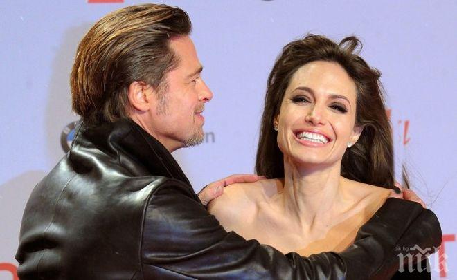 Съдът задължи Анджелина Джоли да даде повече достъп до децата на Брад Пит