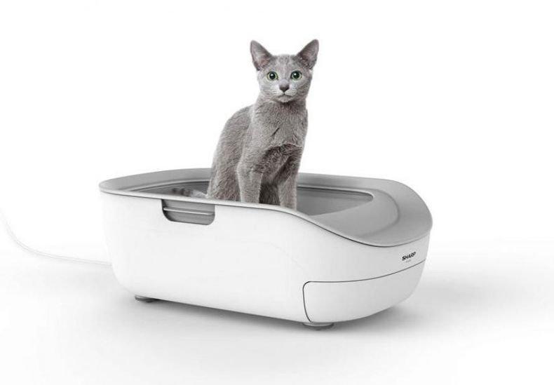 И това го има! Създават смарт тоалетна за котки
