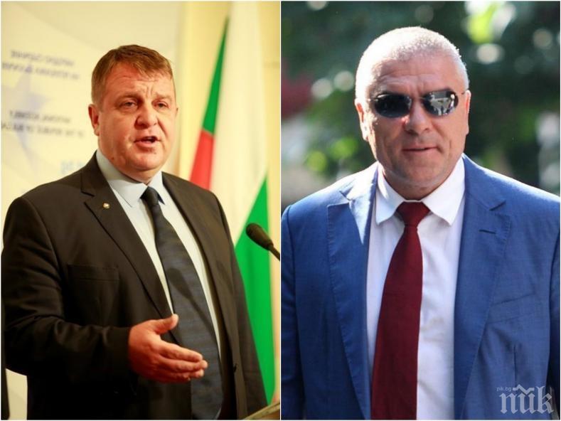 САМО В ПИК! Вицепремиерът Каракачанов за поисканата му от Марешки оставка: Не за първи път влизат в парламента сульовци и пульовци, но танцуват по има няма един мандат