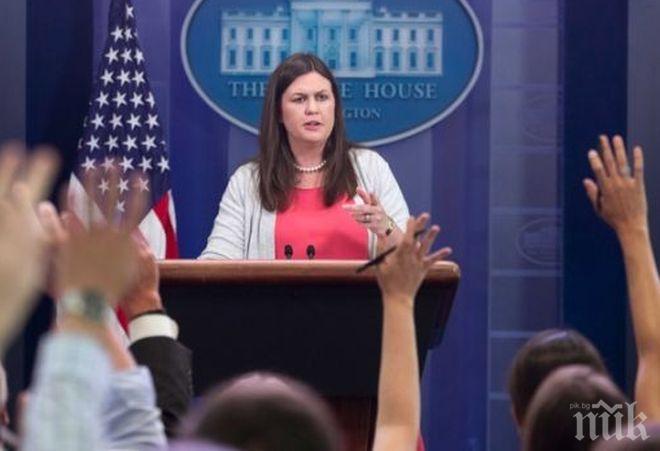 Прессекретарят на Белия дом  отрече, че смята да напуска