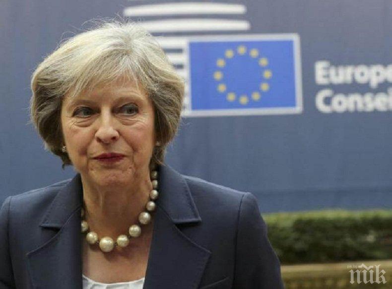 Тереза Мей ще настоява за засилване на санкциите срещу Русия