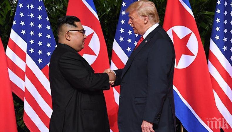 Азиатските медии хвалят Доналд Тръмп и Ким Чен-ун