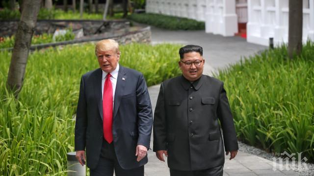 Доналд Тръмп обяви, че не е обсъждал с Ким Чен Ун изтегляне на американски войски от Южна Корея