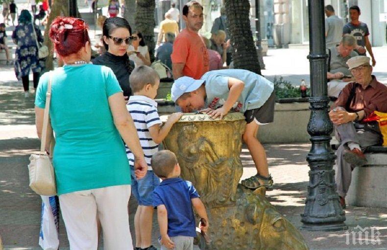 Живакът полудя! 36 градуса в Пловдив - ето кой как бори жегите (СНИМКИ)