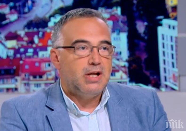 Антон Кутев: Пазарът на оръжие в България е по-голям от пазара на салам