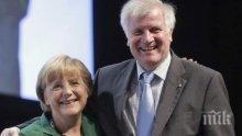 Напрежение! Вътрешният министър на Германия призна, че повече не може да работи с канцлера Ангела Меркел
