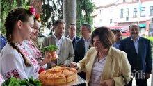 Велико Търново посрещна дипломатическия корпус на Румъния