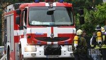 """Лек автомобил се е запалил в движение на автомагистрала """"Тракия"""""""
