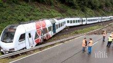 ИЗВЪНРЕДНО! При влакова катастрофа в Казахстан загина един човек