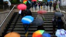 Поройният дъжд в София наводни улици и булеварди