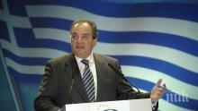 Бивш премиер на Гърция скочи срещу споразумението за името на Македония
