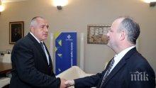 ПЪРВО В ПИК! Борисов с важен разговор с посланика на САЩ