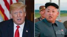 """Доналд Тръмп заяви, че """"до голяма степен е решил"""" Севернокорейския проблем"""