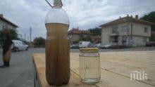 Кафява вода потече от чешмите в Костадинкино