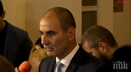 Цветанов: Не очакваме засилване на мигрантския натиск