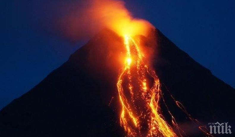 ШОК! Хавайският вулкан започна да сипе скъпоценни камъни