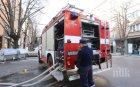 Пожар лумна в автоморга край Пловдив