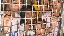 УЖАС И БЕЗУМИЕ В САЩ! Държат в клетки деца, пресекли незаконно границата (ВИДЕО)