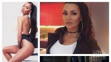 Кали смаза от бой порно актрисата Ангелинка от Козарско (ВИДЕО)