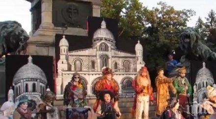 """Живи статуи представят в Русе """"Забравените занаяти на Париж"""" (ВИДЕО)"""