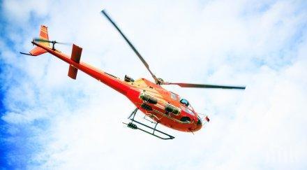 Хеликоптери извозиха 400 туристи, блокирани на връх в Швейцария