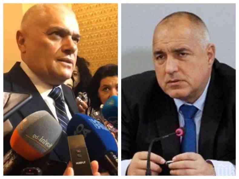 ИЗВЪНРЕДНО В ПИК TV! Борисов за избягалия затворник към МВР-шефа: Хванахте ли го? Радев: Гониме го...