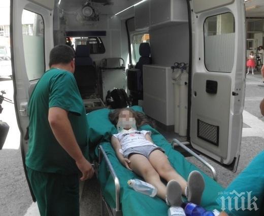 ИНЦИДЕНТ! Дете падна от втория етаж на къща