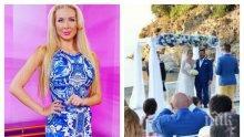 """САМО В ПИК TV! Прясно омъжената Антония Петрова бременна с близнаци + нови СНИМКИ от тайната гръцка сватба само в """"Жълтите новини"""""""