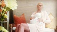 Бригите Нилсен стана майка за пети път на 54 години