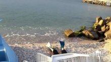 ТРАГЕДИЯ! Жена се удави в Поморие, носела плавници и шнорхел