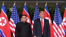 """Доналд Тръмп се оплака от """"почти предателско"""" отразяване на срещата с Ким Чен-ун"""