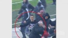 Съдят главатар от ЦСКА, налагал фенове на Локо Пловдив с колан