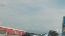 Прокуратурата в действие: Подпукаха пияна шофьорка заради меле край Пловдив, карала и без книжка