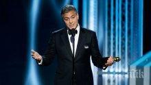 Джордж Клуни стартира телевизионен проект
