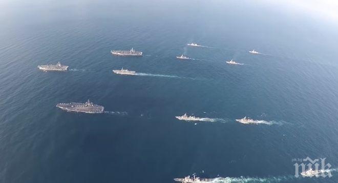 Американски самолетоносач патрулира спорното Южнокитайско море