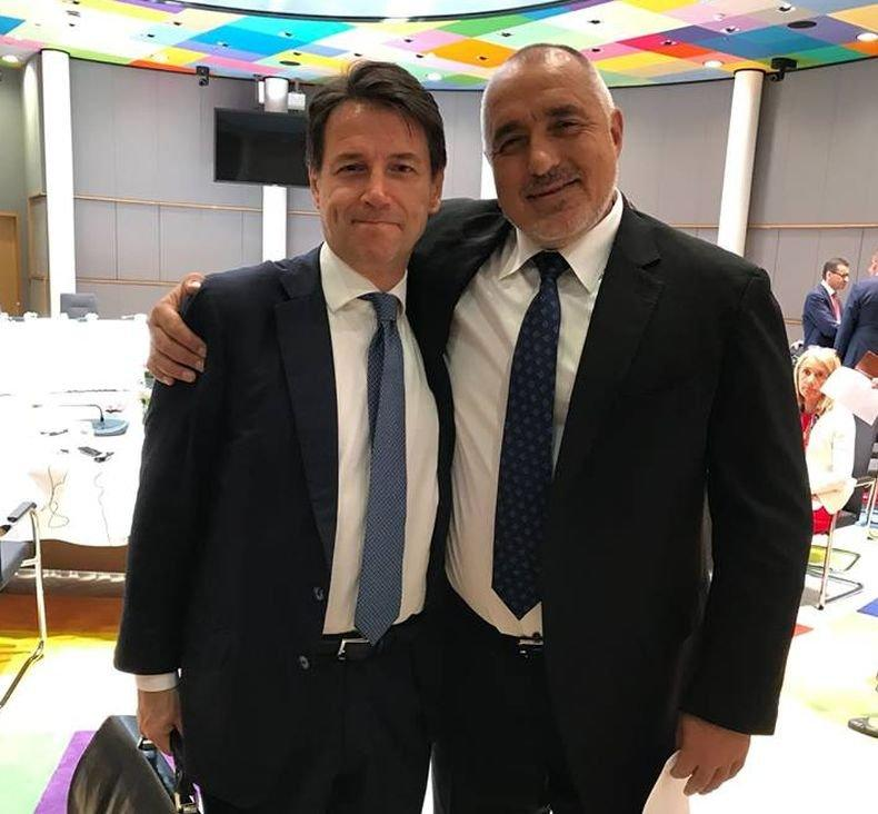ПЪРВО В ПИК! Борисов покани премиера на Италия Джузепе Конте в България