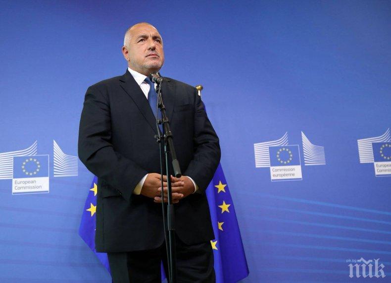 Борисов ще участва в редовното заседание на Европейския съвет в Брюксел