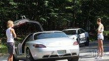 Пътен инцидент развали среща на Джъстин Бийбър със супермодел