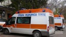 Мъж е пострадал леко при катастрофа край Разград